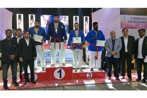 Bojnurd IAU Kurash Practitioner Wins Gold in 2019 Kurash C'ships