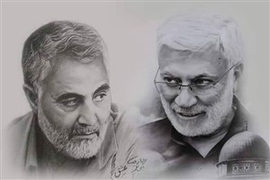 برگزاری نمایشگاه آثار هنری مرتبط با زندگی «سردار سلیمانی» در دانشگاه فرشچیان