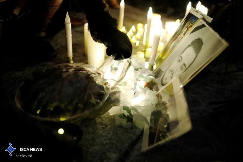 یادبود جانباختگان هواپیمای سقوط هواپیمای اوکراینی