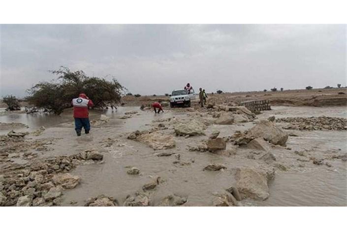 امداد رسانی  به  مناطق سیلزده در جنوب کشور