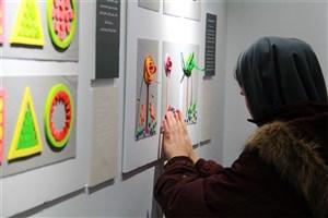 افتتاح اولین نمایشگاه تصویرسازی کودکان نابینا و کم بینا در گالری رودکی
