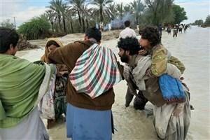 جان  باختن ۳ نفر در سیل بلوچستان، هرمزگان و کرمان