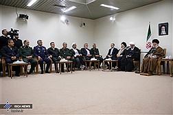 دیدار ستاد کنگره شهدای بوشهر با رهبرانقلاب