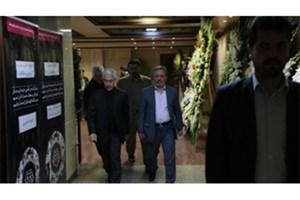 وزیر علوم در مراسم یادبود زوج جانباخته در سانحه هواپیمای اوکراینی شرکت کرد