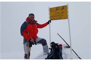 صعود تیم کوهنوردی واحد رودهن به قله تلکمر