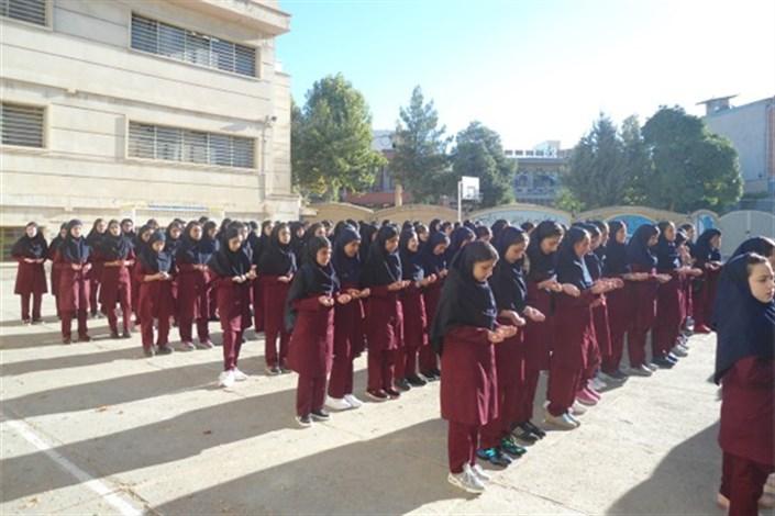 سهیلا خورشیدی مدیر مدرسه دخترانه دوره اول متوسطه سما واحد بروجرد