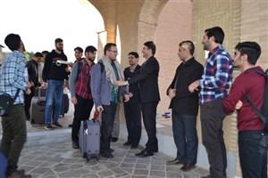 اولین کاروان دانشجویی اردوی زیارتی - تربیتی «صراط» به سوی مشهد مقدس اعزام شدند
