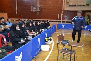 نگاه دانشجویان به واحدهای تربیت بدنی حکم زنگ تفریح را دارد