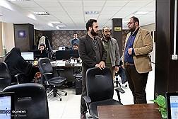 بازدید قائممقام  بسیج دانشجویی کشور از باشگاه خبرنگاران دانشجویی