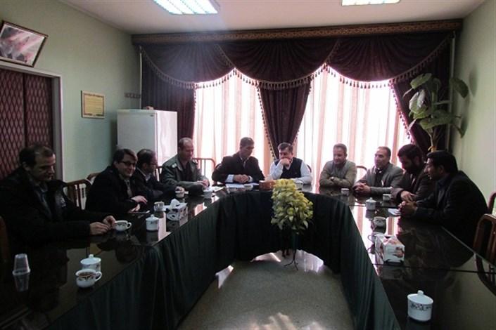 برگزاری اولین کارگروه علوم تحقیقاتی و فناوری بسیج سپاه ناحیه شهرستان بناب