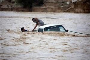 سیل در فارس جان  4 نفر را گرفت/قطع آب و برق در چند روستا