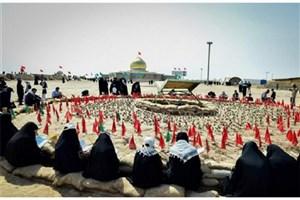 بازسازی اتفاقات عملیات نصر در ایام برگزاری اردوهای راهیان نور