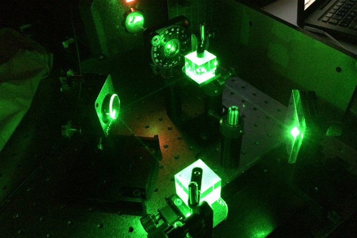 Researchers Make Light And Material