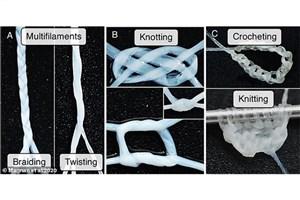 Researchers Create Flexible Yarn from Human Skin Cells
