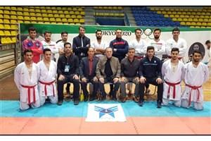 پیروزی قاطع تیم کاراته دانشگاه آزاد در مسابقات لیگ برتر
