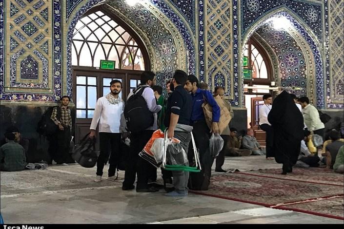 آغاز هفدهمین اعتکاف دانشجویی دانشگاه های مشهد در حرم مطهر رضوی