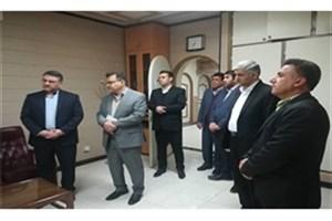 افتتاح سالن تشریح پزشکی قانونی یاسوج