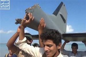 ارتش یمن یک پهپاد متجاوز ائتلاف سعودی را در آسمان الحدیده سرنگون کرد