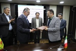 انعقاد تفاهمنامه همکاری دانشگاه آزاد شیراز با شرکت تولیدی لاستیک دنا
