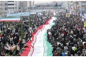 آغاز آماده سازی مسیرهای راهپیمایی 22 بهمن در مرکز شهر تهران