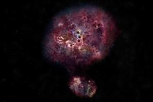 کشف کهکشان ابرسریع خلقکننده ستاره