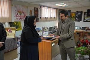 برپایی نمایشگاه آثار هنری دانشجویان دانشکده هنر و معماری مشهد