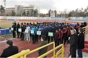 مسابقات فوتبال دانشجویان دانشگاه آزاد خراسان رضوی آغاز شد