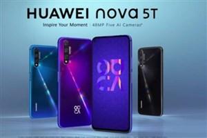 گوشی Huawei nova 5T به  ایران آمد
