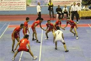 پیروزی مقتدرانه تیم کبدی ایران در گام سوم