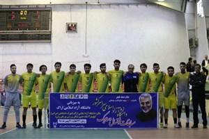 نتایج  روزدوم مسابقات دسته یک فوتسال دانشجویان دانشگاه آزاد اسلامی