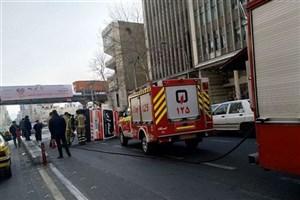علت  واژگونی آمبولانس در خیابان طالقانی چه بود؟