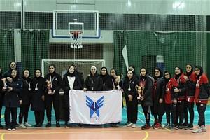 جام قهرمانی مسابقات بسکتبال بانوان به تهران رسید