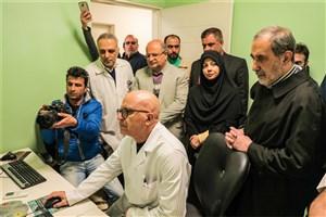 طرحهای توسعهای بیمارستان مسیح دانشوری افتتاح و موردبهره برداری قرار گرفت