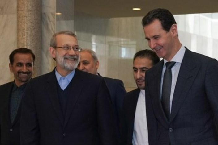علی لاریجانی ـ بشار اسد