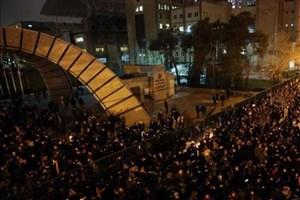 تجمع و درگیری دانشجویان دانشگاه امیرکبیر/ معترضان برنامه و هدف مشخصی نداشتند
