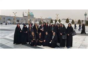 اردوی زیارتی مشهد مقدس ویژه دانشجویان شاهد و ایثارگر واحد نجف آباد برگزار شد