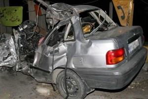 تصادف پراید و تریلی  مقابل ندامتگاه تهران بزرگ/ 3 نفر مصدوم شدند