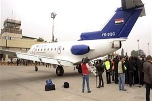 فرودگاه بینالمللی حلب پس از ۱۰ سال بازگشایی شد