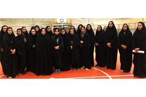 دوره مربیگری آمادگی جسمانی ویژه خواهران در واحد قم برگزارشد