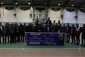 برگزاری مراسم اختتامیه مسابقات فوتسال دسته یک دانشجویان دانشگاه آزاد اسلامی