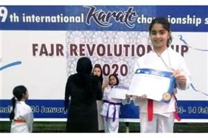 کسب مقام سوم مسابقات بینالمللی کاراته توسط دانشآموز سمای مشهد