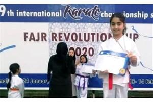 Mashhad SAMA IAU Student Ranks 3rd in 2020 Fajr Revolution Cup