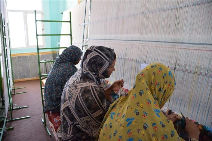 اشتغال زایی بنیاد برکت در جزیره هرمز