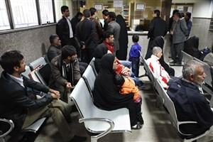 افزایش 10 درصدی مراجعه به بیمارستانهای تهران