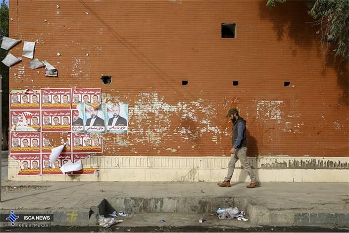 تبلیغات نامتعارف نامزدهای انتخاباتی در اهواز