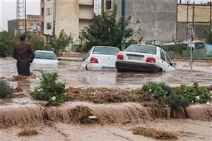 سیلابی شدن  محورهای 8 استان/از سفر بپرهیزید