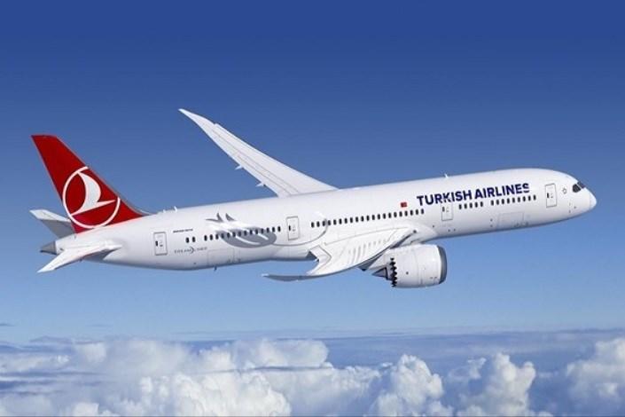 هواپیمای مسافربری ترکیه