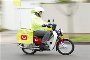 محمولههای پستی با موتورسیکلتهای برقی ارسال میشود