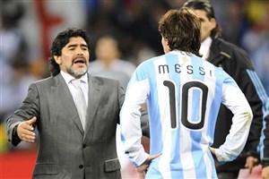مارادونا: مسی نمیتوانست کارهای مرا در ناپولی انجام دهد