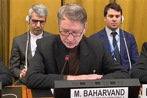 بهاروند خطاب به وزیر خارجه عربستان: حق ندارید به دلخواه خودتان با مردم منطقه رفتار کنید